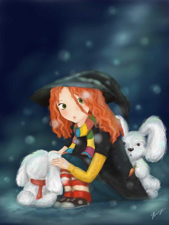 Winter magic - Magic Art