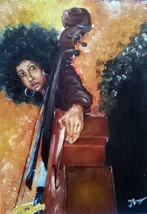 Jazz Lady - Magic Art