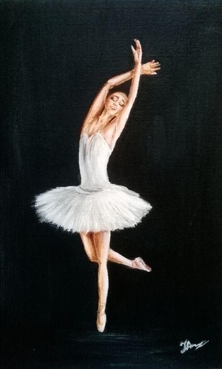 Dreaming ballerina - Magic Art