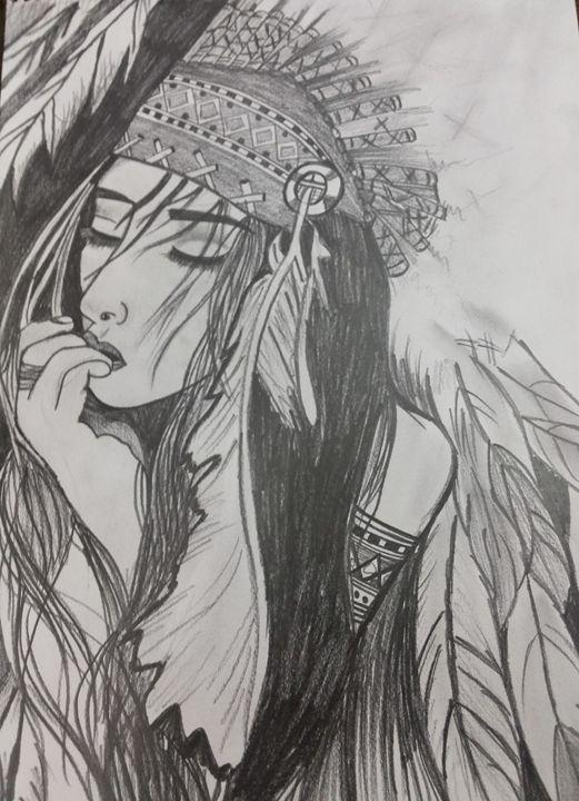 Pencil art - sakshi jain