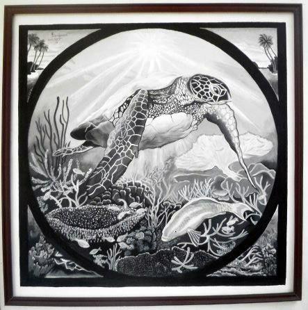 Turtle life - Best paintings