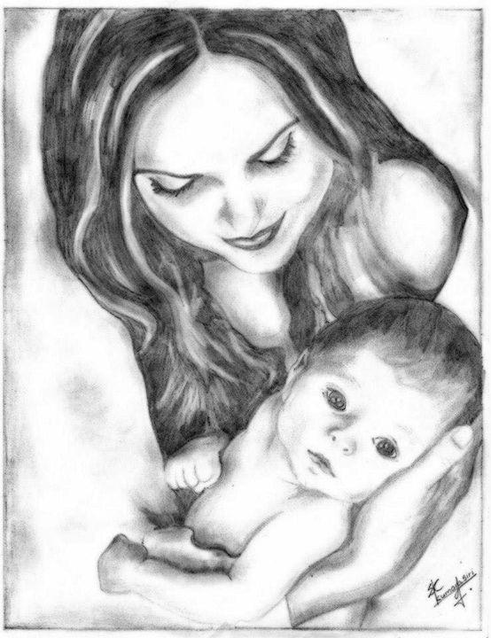 Mothers eternal love....!!!!! - Best paintings