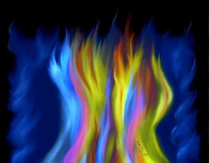 Flames Of Color