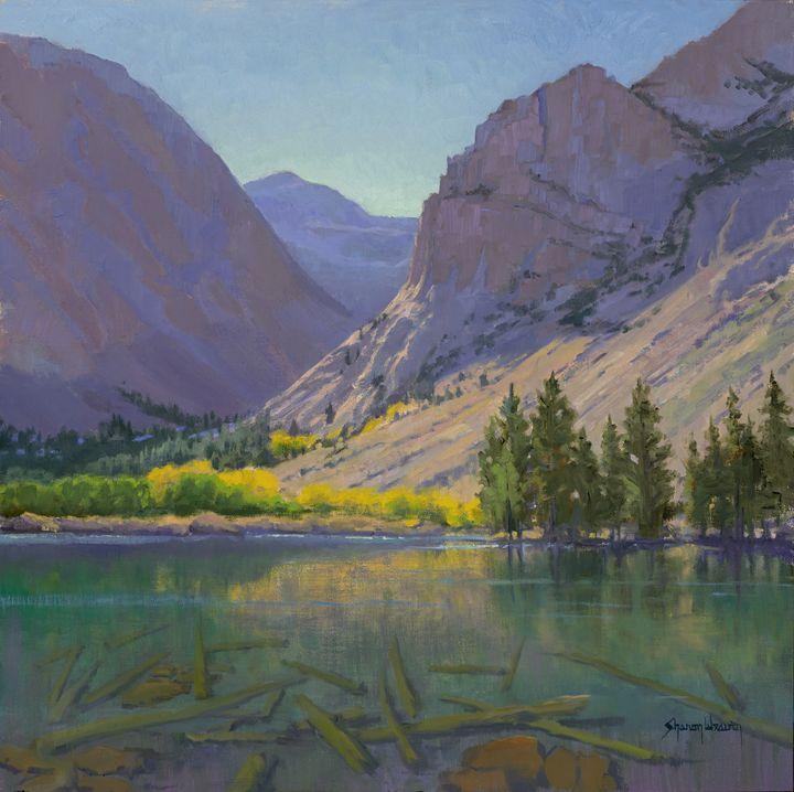 Light at Parker Lake - Sharon Weaver