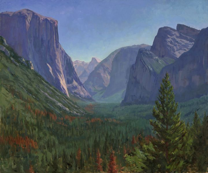 Yosemite Vista - Sharon Weaver
