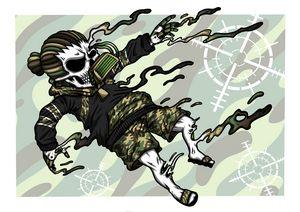 "Dread Skull the Drown ""assault camo"""