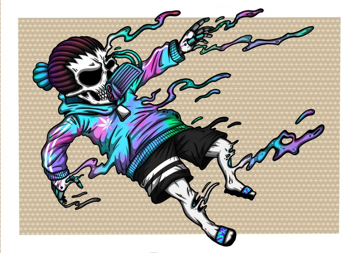 "Dread Skull the Drown ""BHD"" - WVD.studio"