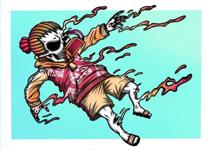 "Dread Skull the Drown ""SHK"" - WVD.studio"