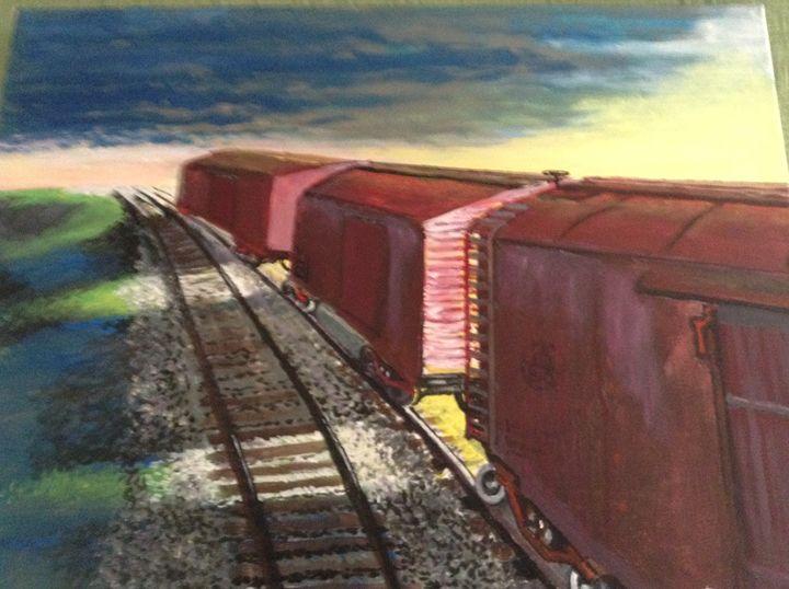 rail yard - walter Buranen
