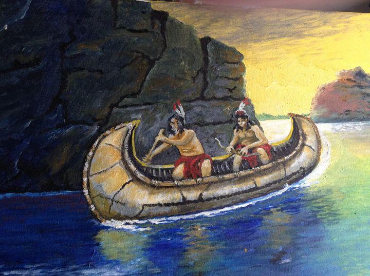 fishing party - walter Buranen