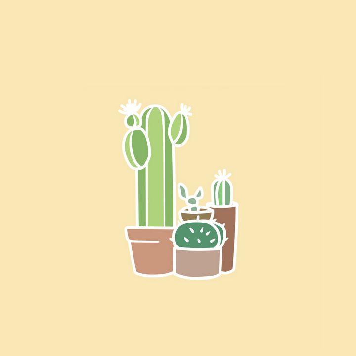 Cute Cactus - Hangrypeach