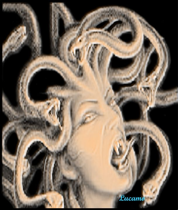 Myth Of Medusa - Lucamo: Creating with images