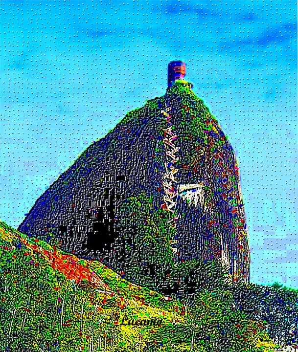 Guatape Rock - Lucamo: Creating with images