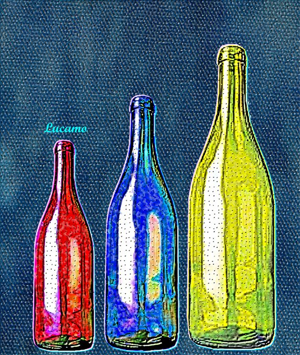 Bottle - Lucamo: Creating with images