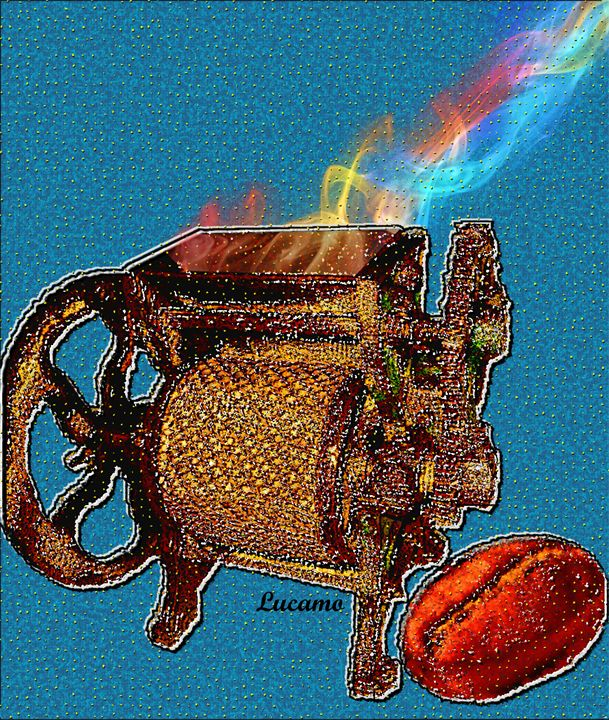 Coffee Aroma - Lucamo: Creating with images