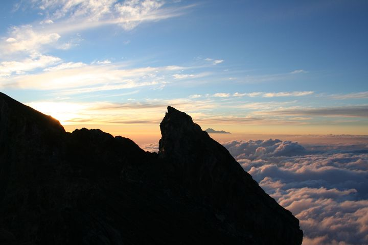 Mt. Agung - Here is the world