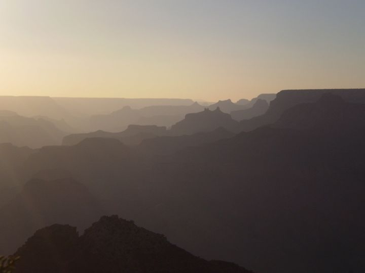 Grand Canyon III - Here is the world