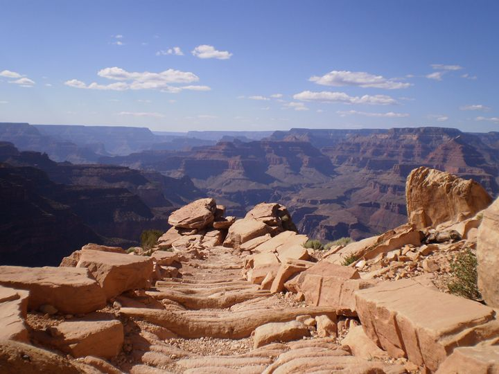 Grand Canyon II - Here is the world