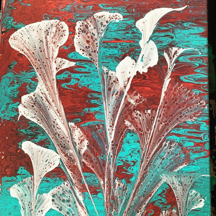 Swamp Flowers - Teresa's creations