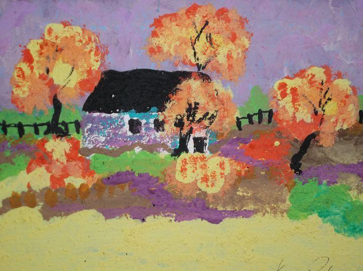 Golden Maples - Joseph S. Psutka