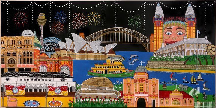 Sydney - Artwork by Krysia