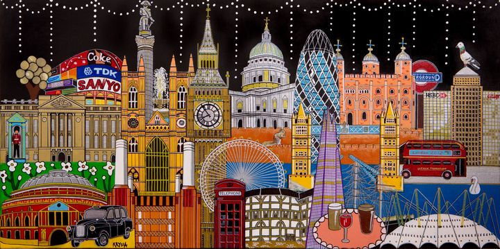 London - Artwork by Krysia