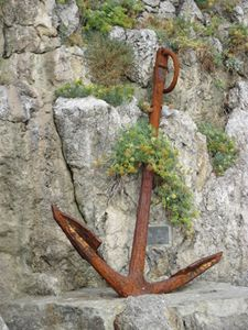Anchor at Positano Harbor