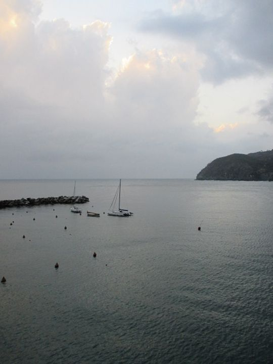 Storm Coming in Levanto - JesseEnslingArt