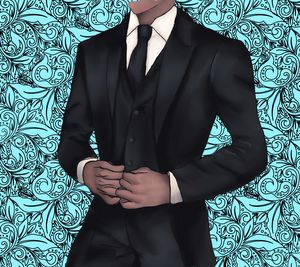Man in Tuxs