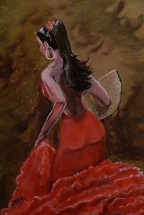 Flamenco I - B.Miller Millers Hill Gallery