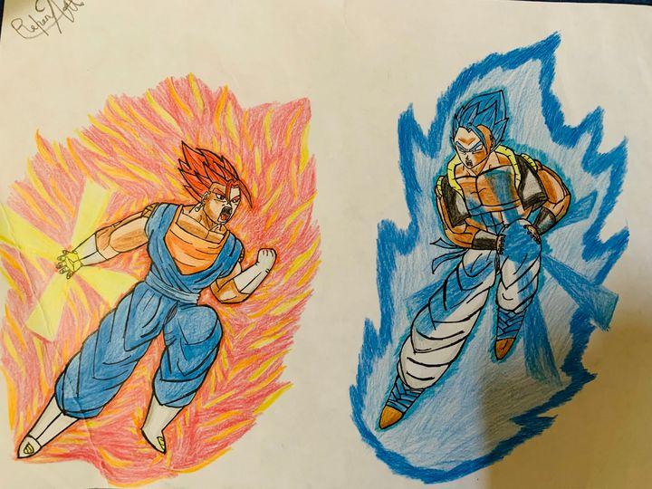Potara vs Fusion - DB art site