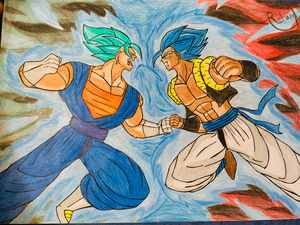 Potara vs Fusion by DBartsite