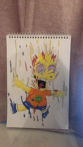 Original art Simpson art work