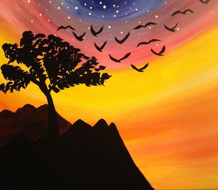 Sunset sky - Xara loves