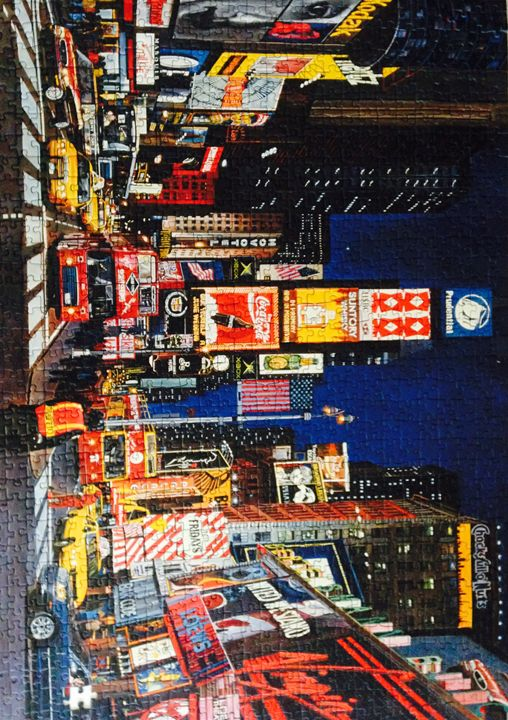 Times Square city scape jigsaw - Xara loves
