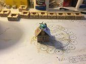 Trap art miniature BIRDHOUSES
