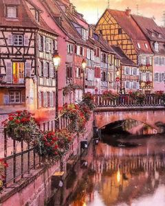Little town in France
