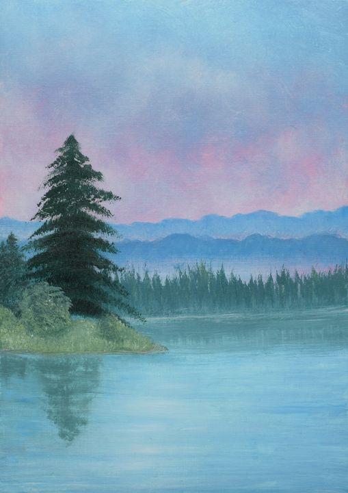 Misty mountains - Brigi