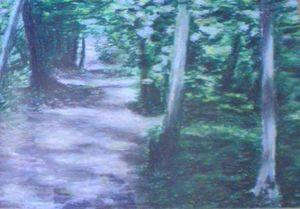 undergrowth near Versailles - Francois Dubroeucq