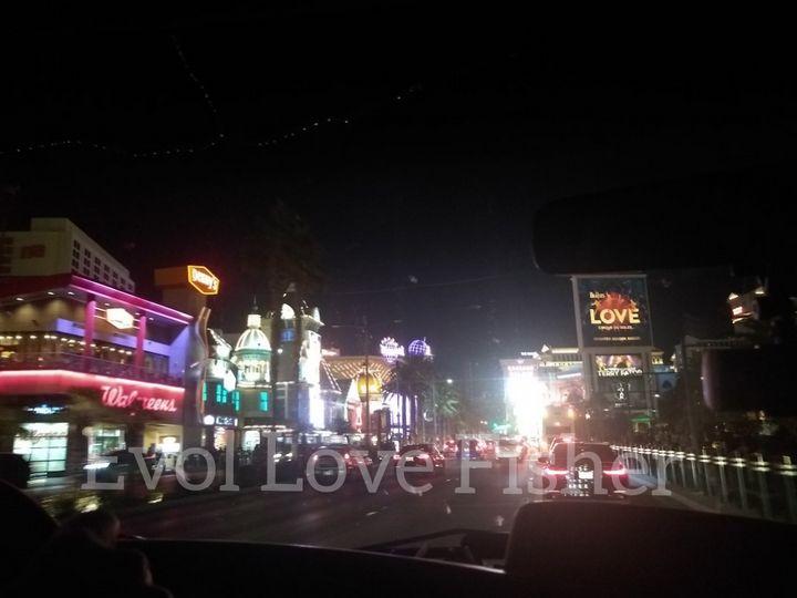 Crusin the Vegas strip - Evol Love Fisher