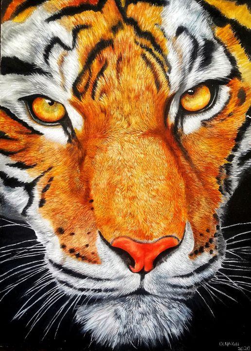 Eye of the tiger - dumoreart