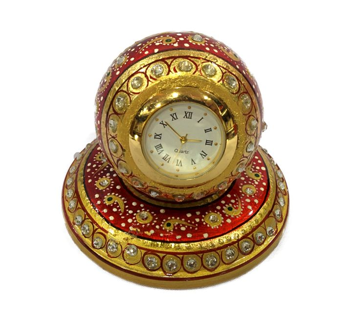 Paper Weight Round Table Watch - Sparsh - A Touch of Art