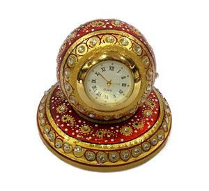 Paper Weight Round Table Watch