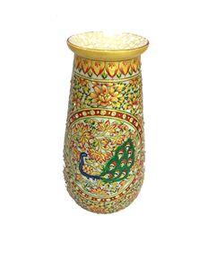 Embossed Painting Marble Vase