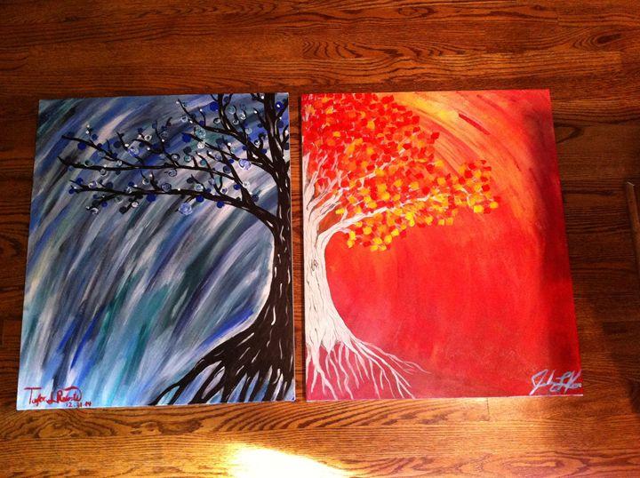 Turning trees - Taylor Roberts