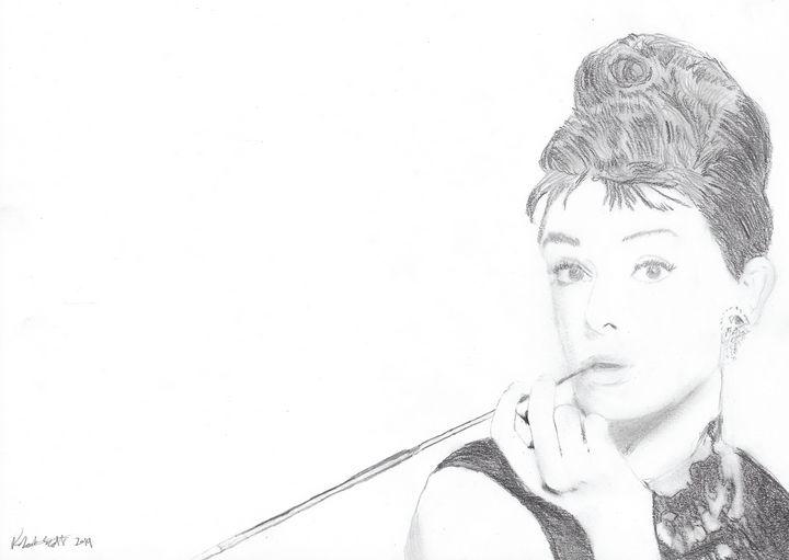 Audrey Hepburn - Robert Scott