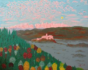 Zips Castle - Philip's Oil Paintings