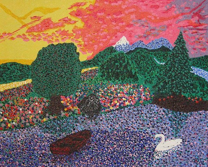 Swan Lake - Philip's Oil Paintings