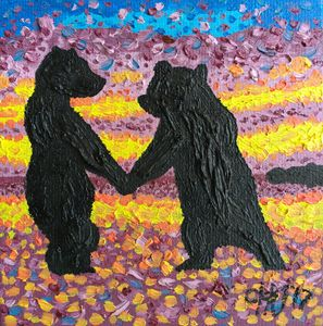 Bear cubs Dance