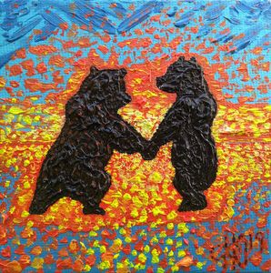 Bear cubs Orange Dance
